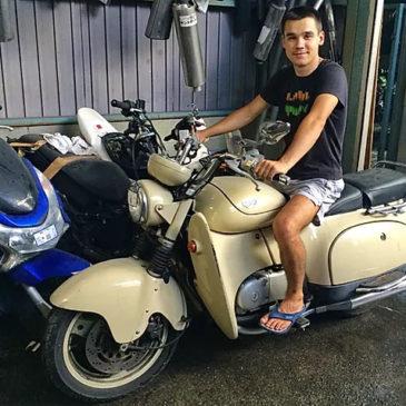 Мотоцикл в Японии