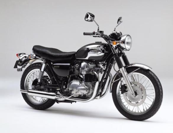 Kawasaki W650 Chrome Version